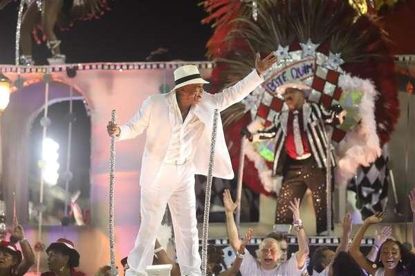 Antônio Pitanga, o grande homenageado da noite na Sapucaí