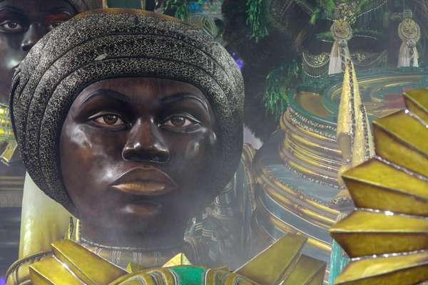 Desfile da escola de samba Mancha Verde, válida pelo Grupo Especial do do Carnaval SP 2019