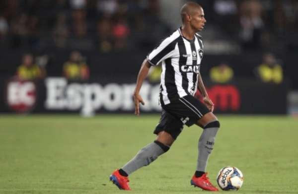 Imagens de Rickson jogando pelo Botafogo