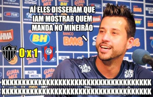 Memes: Atlético-MG 0 x 1 Cerro Porteño