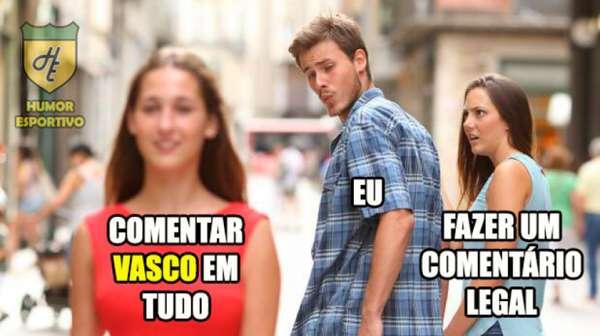 Onda de comentários com 'Vasco' rende enxurrada de memes na web