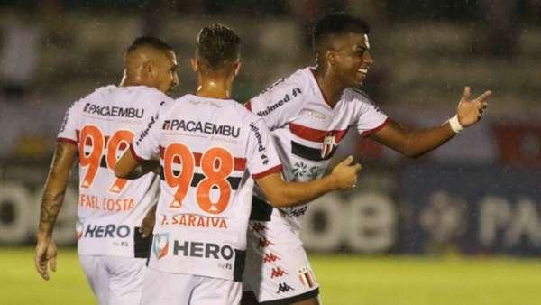 Botafogo SP x Santos