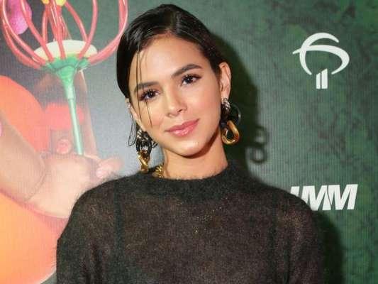 Bruna Marquezine falou sobre mensagem do ex-namorado Neymar durante estreia do espetáculo 'Ovo', do Cirque du Soleil, na noite desta quinta-feira, 21 de março de 2019