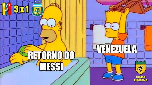 Messi e Argentina sofrem com memes após derrota em amistoso