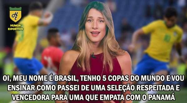 Memes: Brasil 1 x 1 Panamá