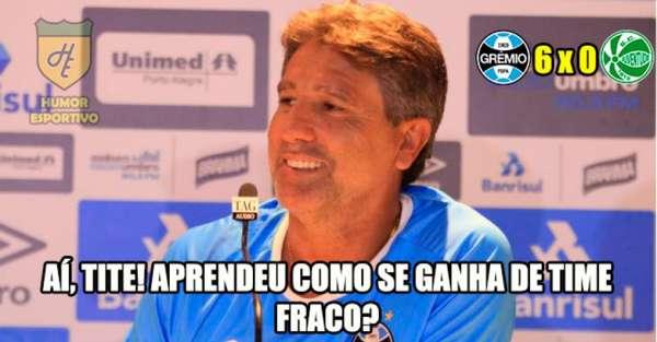 Memes: Juventude 0 x 6 Grêmio