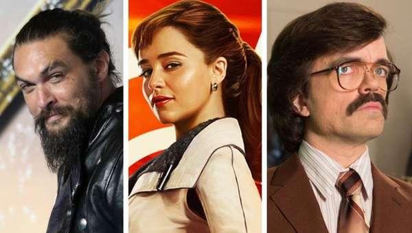 'Game of Thrones' - Chegando à última temporada em 2019, a série 'Game of Thrones' foi responsável por lançar diversos atores ao estrelato, e também fazer com que artistas que já tinham experiência voltassem a figurar entre os principais nomes cotados para grandes produções. Jason Momoa, Emilia Clarke, Peter Dinklage e Sophie Turner são alguns exemplos. Confira outros a seguir.