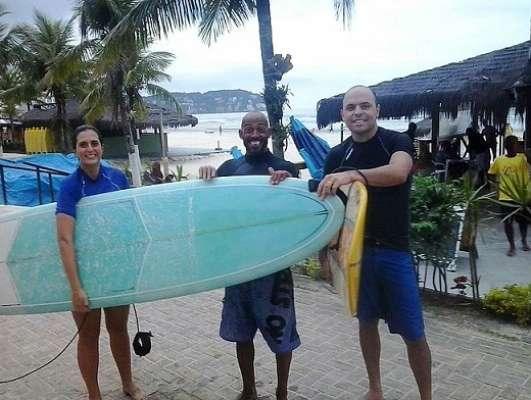Surf do bem, no mar e na vida