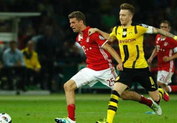 Bayern e Borussia se enfrentam, neste sábado, às 13h30, na Allianz Arena, em um clássico com clima de decisão no Campeonato Alemão. O Dortmund é o líder da competição com 63 pontos, dois a mais que o rival, segundo colocado.