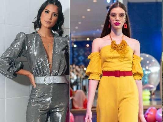 6 vezes em que o macacão foi a estrela do look e o truque de combinar peças com mesm estampa para montar um jumpsuit estiloso