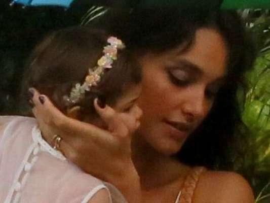 Bella, filha de Débora Nascimento e José Loreto, comemorou com festa seu primeiro aniversário neste domingo, 14 de abril de 2019