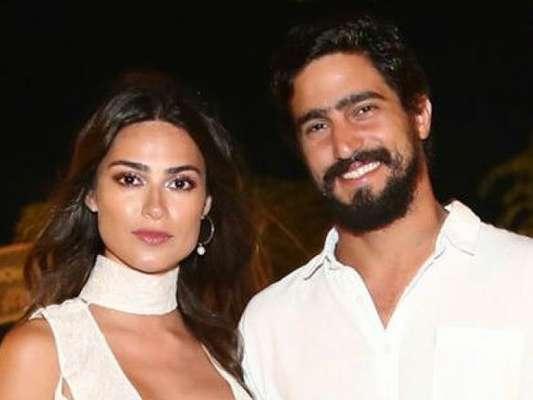 Thaila Ayala e Renato Góes marcaram a data do casamento, segundo o colunista Leo Dias, nesta quinta-feira, 18 de abril de 2019
