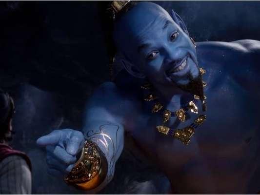 """De """"Aladdin"""": novo trailer do filme mostra mais cenas do Gênio (Will Smith)"""