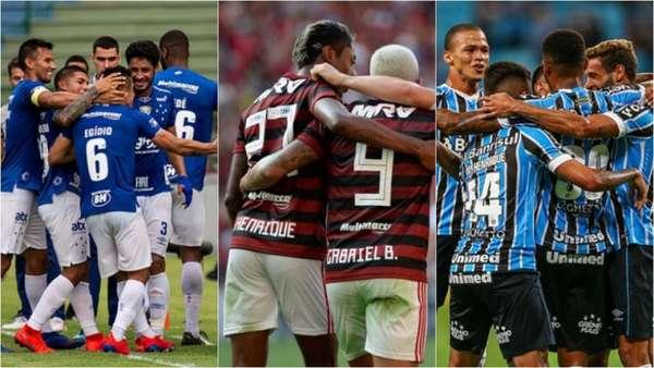 Após os estaduais terem terminado e os clubes de Série A do Brasileirão terem completado, pelo menos, 17 jogos oficiais na temporada, vale conferir o aproveitamento de cada um deles no ano de 2019. Por isso, o LANCE! traz o ranking completo com o retrospecto das equipes. Veja a seguir: