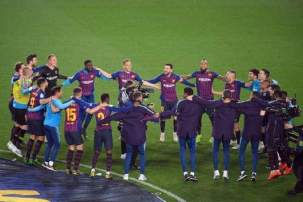 Barcelona 1 x 0 Levante: as imagens da vitória no Camp Nou