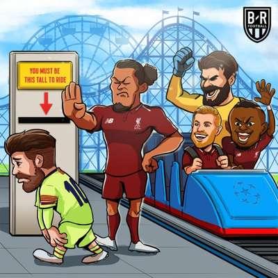 Champions League: os memes de Liverpool 4 x 0 Barcelona