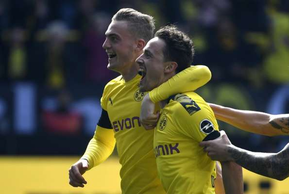 Borussia Dortmund venceu no sufoco
