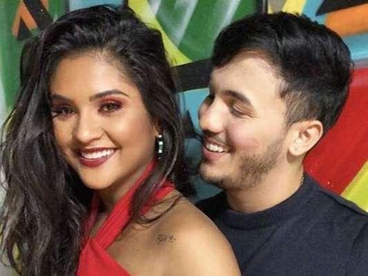 Wallas Arrais lamenta críticas a namorada, Mileide Mihaile, em perfil do Instagram