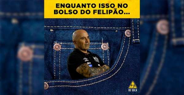 Brasileirão: os memes de Palmeiras 4 x 0 Santos