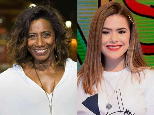 Maisa foi corrigida por Gloria Maria neste sábado, 25 de maio de 2019
