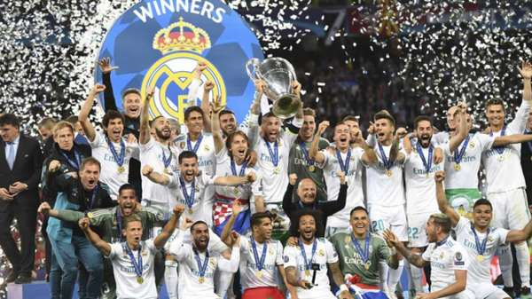 2018 - Real Madrid 3 x 1 Liverpool