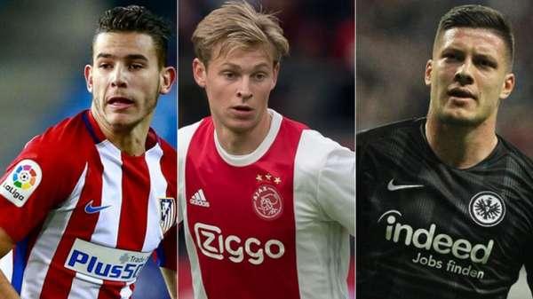 Lucas Hernández, vendido ao Atletico de Madrid ao Bayern; De Jong, negociado do Ajax ao Barça; e Luka Jovic, comprado pelo Real junto ao Frankfurt, movimentaram muito dinheiro na janela de transferência. Veja as negociações mais caras da janela europeia até aqui: