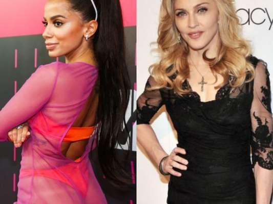 "Anitta e Madonna: trecho de ""Faz Gostoso"" vaza na internet"