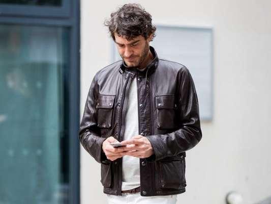 Presentes infalíveis para homens: a jaqueta de couro é garantia de acerto