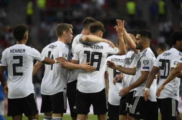 Alemanha x Estônia