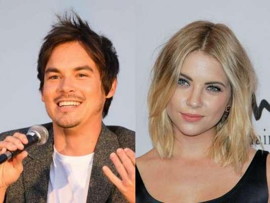 "De ""Pretty Little Liars"", Tyler Blackburn e Ashley Benson ficavam na época da série"