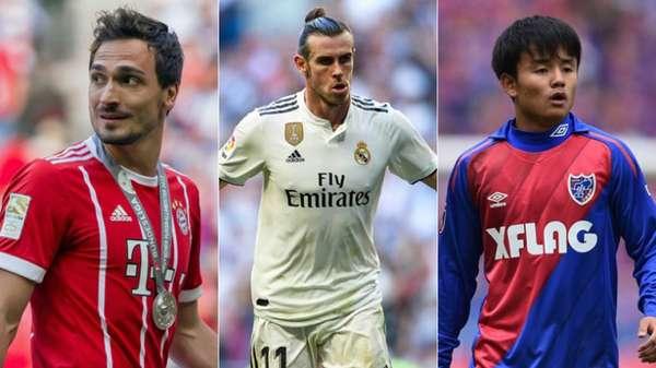 Mercado de transferências agitado no futebol europeu! Na Alemanha, Mats Hummels pode deixar o Bayern de Munique e retornar ao Borussia Dortmund; Na Inglaterra, o Manchester United recusou a contratação de Gareth Bale e na Espanha, o Real Madrid anunciou a contratação do 'Messi Japonês'; veja o resumo do vaivém desta sexta-feira!