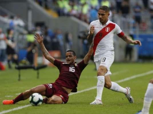 Venezuela x Peru