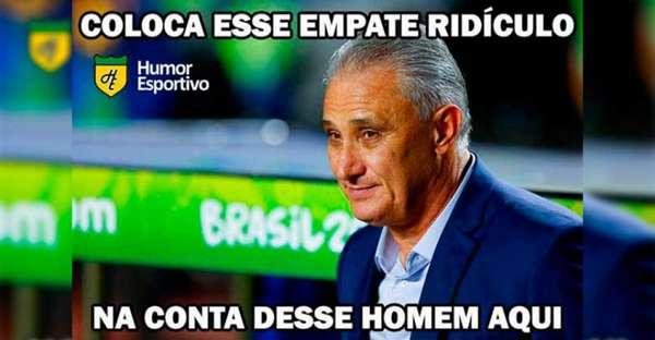 Copa América: os memes de Brasil 0 x 0 Venezuela