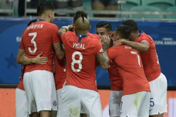 Confira a seguir a galeria especial do LANCE! com imagens da vitória do Chile sobre o Equador na noite desta sexta-feira