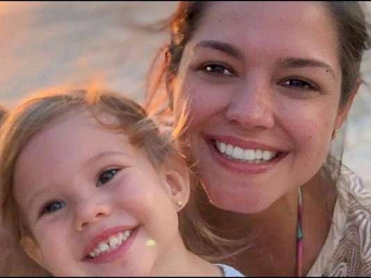 Filha de Thais Fersoza, Melinda surprende atriz com conselho sobre parte do corpo em vídeo nesta segunda-feira, dia 01 de julho de 2019