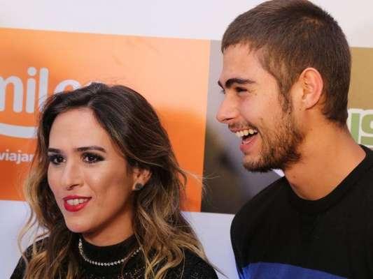 Rafael Vitti revela que filha com Tatá Werneck ainda não tem nome durante a exibição do programa 'Altas Horas', neste sábado, dia 06 de julho de 2019