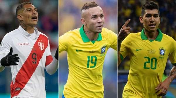 Confira a lista de jogadores concorrentes à artilharia e quem já encerrou o torneio com dois gols. Cabe lembrar que a final é entre Brasil e Peru, neste domingo, às 17h, no Maracanã.
