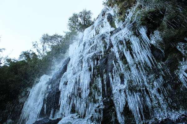 A cidade de Urupema registrou -9,2ºC neste domingo (7), menor temperatura desde 1990