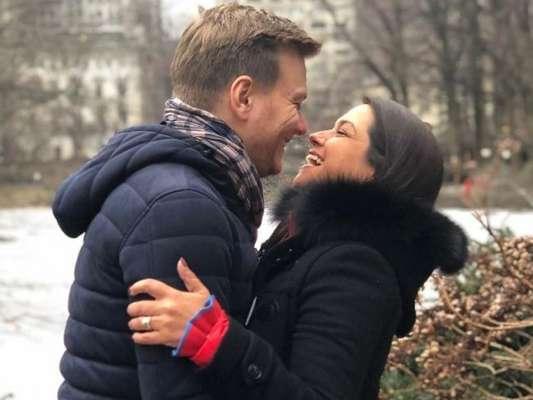 Thais Fersoza postou um texto em apoio ao marido, Michel Teló, por voltar as gravações de 'The Voice Brasil'