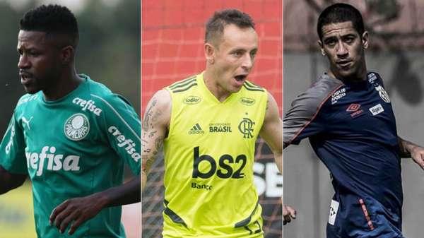 O mercado de transferências foi movimentado durante a parada da Copa América. O Palmeiras trouxe o meia Ramires, Flamengo contratou lateral Rafinha e o Santos trouxe Evandro, que estava no futebol inglês. LANCE! mostra o vaivém dos clubes do Brasileirão durante a pausa.