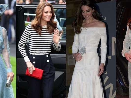 Kate Middleton modernizou looks para renovar seu estilo. Veja fotos na matéria desta terça-feira, dia 09 de julho de 2019