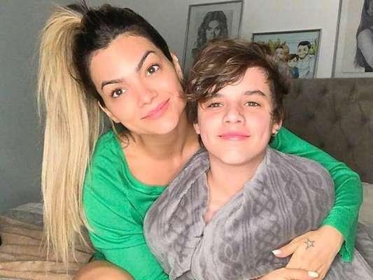 Filho de Kelly Key, Jaime ganhou elogios em foto com irmã, Suzanna Freitas