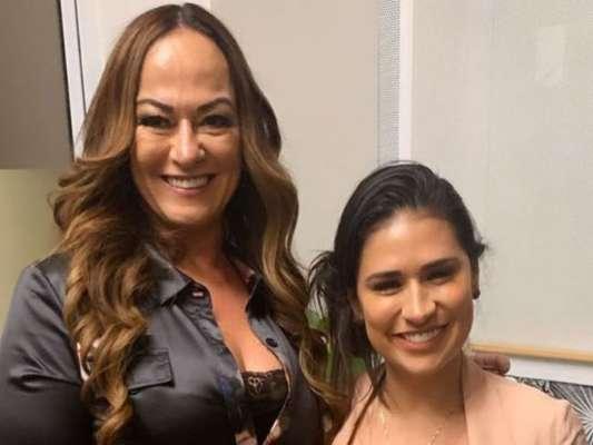 Dupla de Simaria, Simone mostrou foto com mãe de Neymar e fãs citaram Larissa Manoela nesta quinta-feira, 11 de julho de 2019