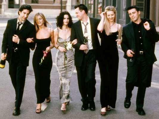 Looks de 'Friends', série que foi de 94 a 2002, e que você vai amar usar nos dias de hoje