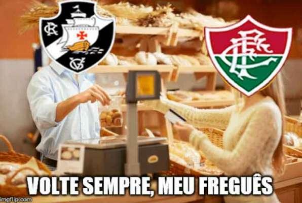 Brasileirão: os memes de Vasco 2 x 1 Fluminense