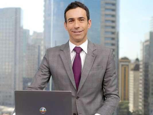 Cesar Tralli retomou o posto de apresentador do 'SP1' nesta segunda-feira, 22 de julho de 2019