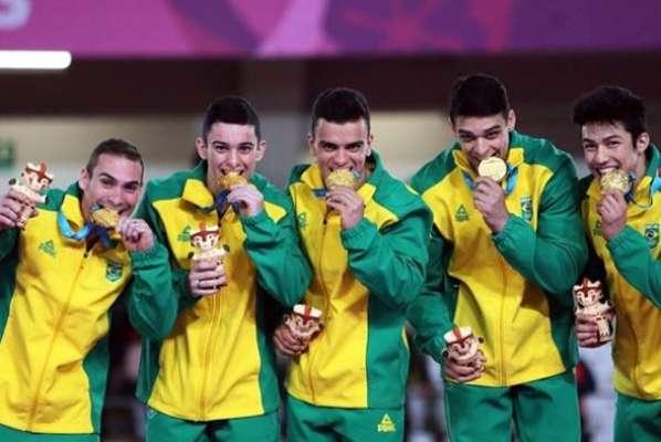 Brasil nos Jogos Pan-Americanos 2019: até o momento o país já levou 12 ouros, 10 pratas e 18 bronzes na competição e tem muita gente sorrindo em Lima.