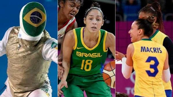Brasil é o atual segundo colocado no quadro geral de medalhas, atrás dos Estados Unidos.
