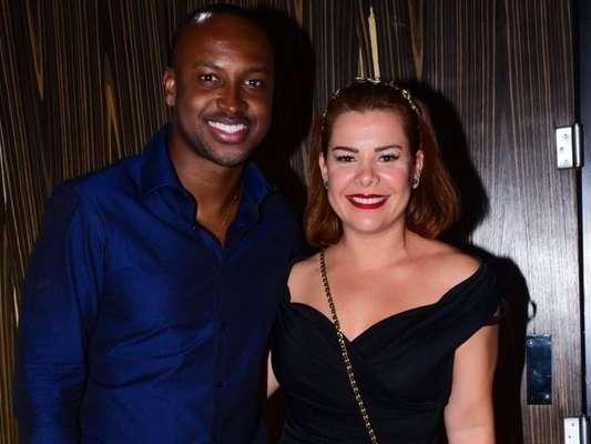 Fernanda Souza e Thiaguinho prestigiaram festa de aniversário de 24 anos de Bruna Marquezine neste sábado, 10 de agosto de 2019