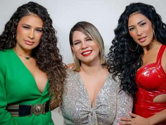 Marilia Mendonça grava clipe com Simone e Simaria: risadas e imprevisto com look em bastidores nesta segunda-feira, dia 12 de agosto de 2019